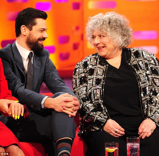 Awkward: Miriam said that Cooper's film Mamma Mia! was 'dreadful'