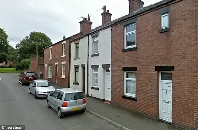 Another view of North Street in Leek where Walters lived