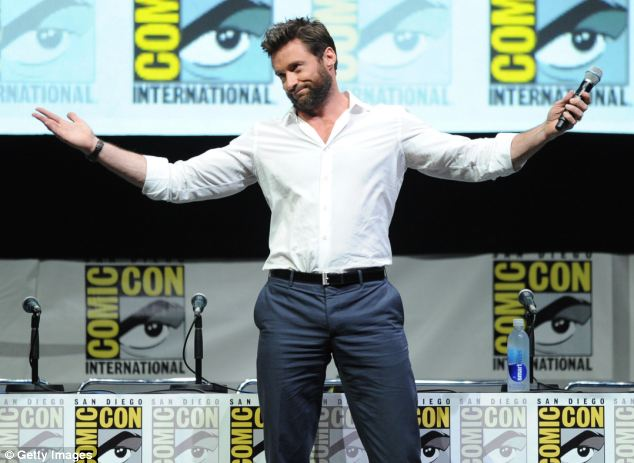 Hugh Jackman was the third highest Hollywood earner in 2013, according to the New York Film Academy, after earning $55m