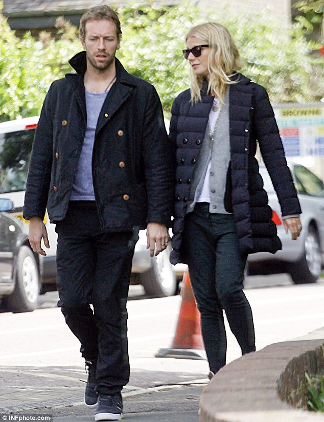 Not role models? Gwyneth and her husband Chris Martin may be hugely successful in their own right but their children have no interest in following in their footsteps
