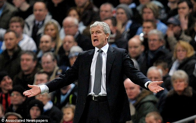 Out: Hughes had a good record at City, but was sacked for Roberto Mancini around Christmas time in 2009
