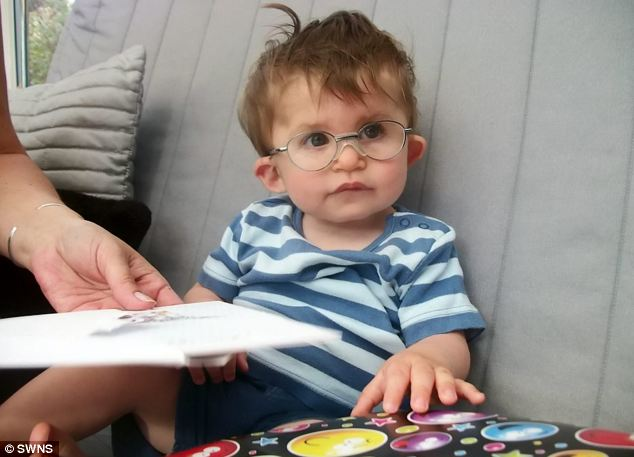 Danny has no auditory nerves at all, meaning he will remain deaf unless he has an auditory brain stem implant operation