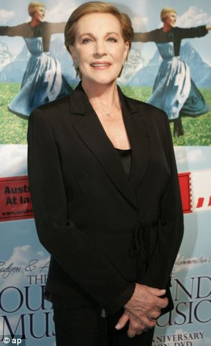 Julie Andrews played Maria in the classic musical