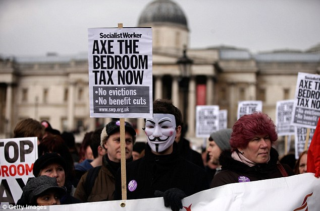Government reforms to the welfare system - including so-called 'bedroom tax' - are legal, judges have ruled