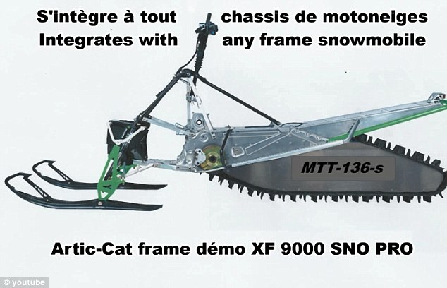 It does more! The machine can attach to a snowmobile