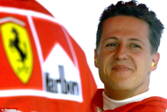 Denial: Schumacher's manager Sabine Kehm said the waking-up process remained 'unchanged'