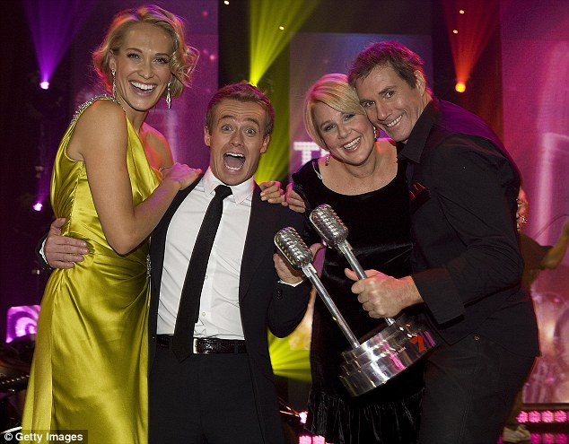 Seven star: The former weatherman has had mixed success hosting programs such It Takes Two, Iron Chef Australia and Slide Show