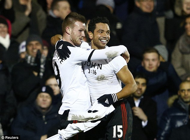 Surplus to requirements? Ryan Tunnicliffe (left) could be on his way out of Fulham
