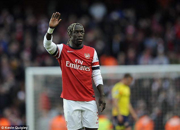 Time to wave goodbye? Arsenal could lose Bacary Sagna this summer with contract talks unresolved