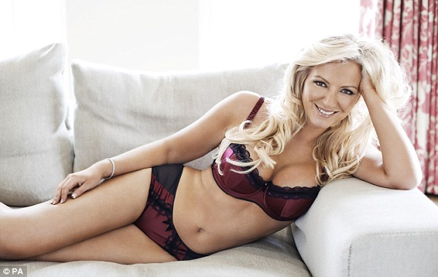 Mother of three Michelle Mone has modelled her own lingerie in the past - on this occasion after losing 6st over three years