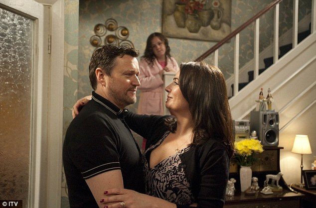 Happy couple: Anna and Owen Armstrong (Ian Puleston-Davies)