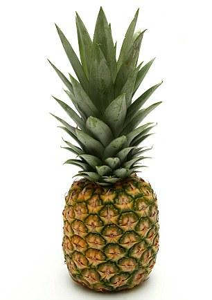 She ate one pineapple a week