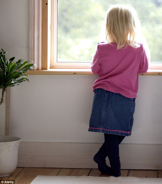 Rise: In 1995 the number of children under five adopted in England was a mere 560. By 2012, this number had quadrupled (file picture)
