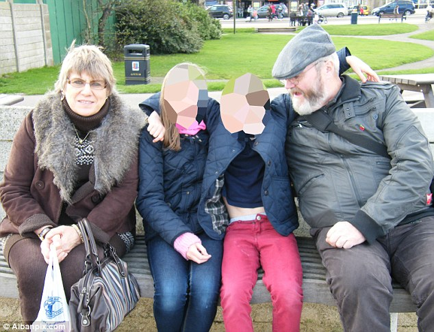 Unsubstantial reasons: Graham and Gail Curlew, from Sheringham, Norfolk, said their grandchildren were removed from them with no reason ever given