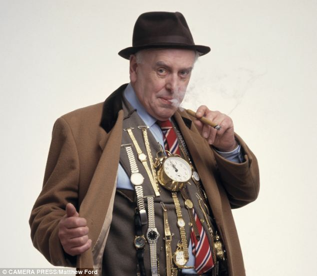 George Cole who played loveable cockney crook Arthur Daley in Minder, pictured, is happily still with us at 88
