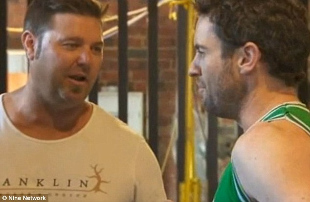 Excuse me! Steve defends himself against Dave's accusations, saying he works when the cameras are off