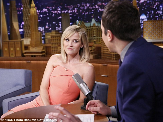 She's got the look: The blonde had promised to appear on the host's previous show, Late Night With Jimmy Fallon,in April but was forced to cancel after being arrested for disorderly conduct in Atlanta