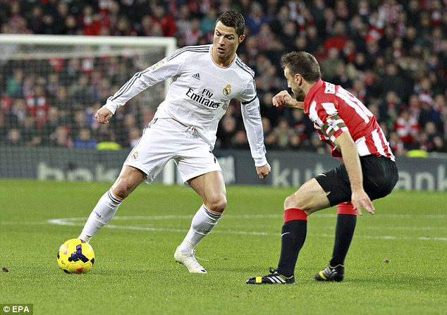 The Real deal: Cristiano Ronaldo is in top form for Madrid this season