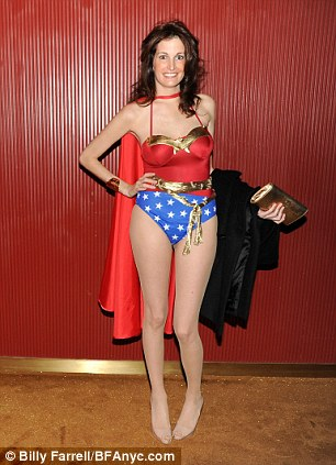 Wonder Woman: Ludwick sent several emails to Lana Trevisan's (pictured) bosses accusing her of being a 'harlot' who was having an affair with supervisor