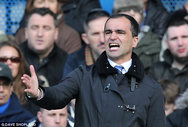 One less option in attack: Everton manager Martinez will have to do without the services of striker Traore