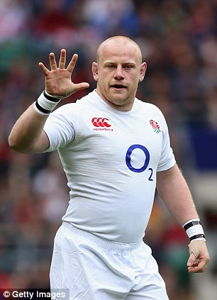 Out: Tighthead prop Dan Cole is among England's long list of unavailable players