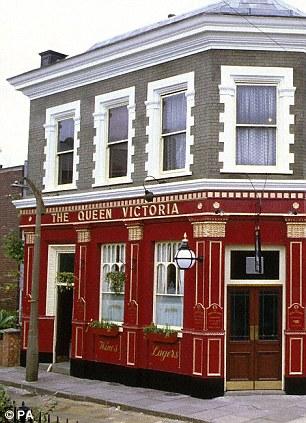 The Queen Vic pub in EastEnders