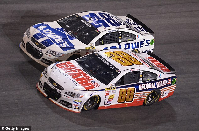 Side by side: This year's United States Grand Prix clashes with the NASCAR AAA Texas 500