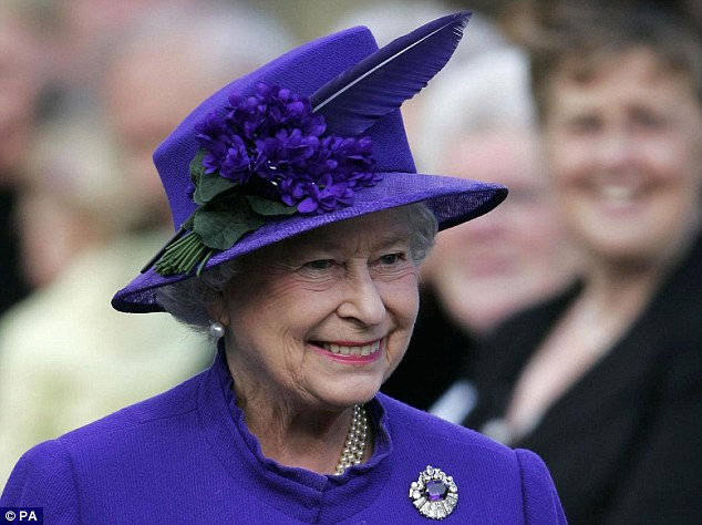 Row: Zara's brother Peter Phillips was at the centre of a storm after arranging to sell the photographic rights to his own wedding at Windsor Castle. The Queen (pictured) was deeply unhappy with the decision