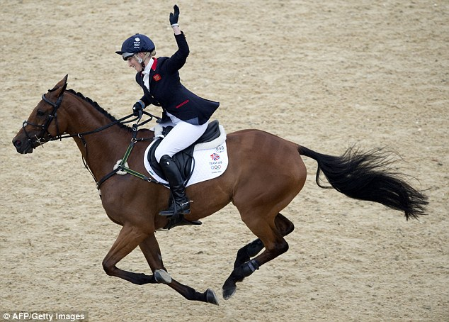 Silver: In the public's mind, any concern about a dash for cash is mitigated by Zara's gutsy performance as an equestrian, not least when she was part of the medal-winning Team GB at the 2012 Olympics