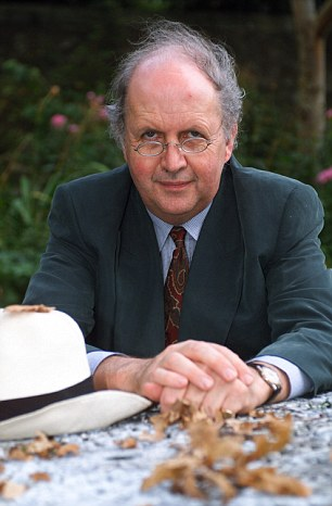 Alexander McCall Smith says his garden fox was never a nuisance for him