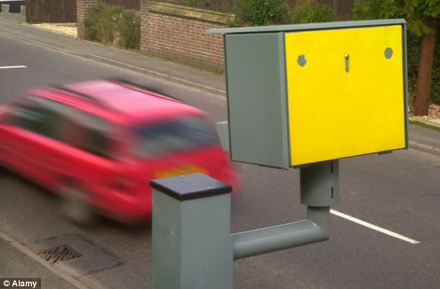 Capture: Ms Ralphes was given the choice of taking three penalty points or attending a driver awareness course after a speeding ticket from Dorset Police was redirected to her home address via the AA (file image)