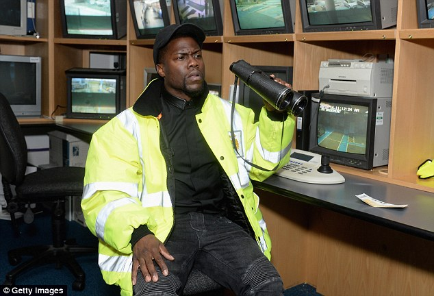Sporting visit: Kevin also attends the Etihad Stadium, home of Manchester City FC