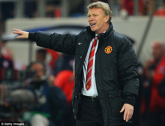 Striving to improve: Van Persie refused to point the finger and insists Moyes and the team are working hard