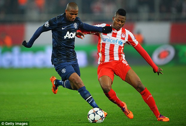 Mystery: Ashley Young (left) joined the Red Devils in 2011 but has failed to make an impact