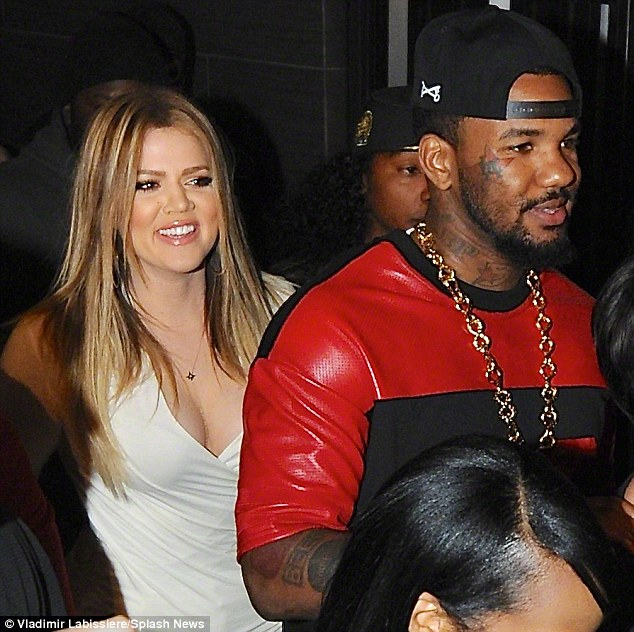 Just goiod friends: The Game inistsde he had known Khloe for years and the pair were merely shared a platonic relationship