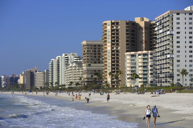 Sun and surf: Marco Island is a rich man's playground, a far cry from Boehner's image as a Midwest-bred everyman