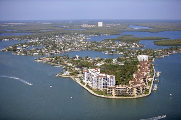 Marco Island, Florida is a luxury community with water as far as the eye can see -- and real estate prices that rival Manhattan