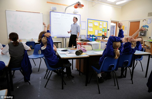 Priority: Grammar schools could give preference to pupils eligible for free school meals, as they already can for pupils in care, according to plans unveiled by the Schools Minister David Laws (file photo)