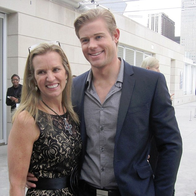 Closer: Hunky 90210 actor Trevor Donovan, 35, shares a special bond with Kerry Kennedy, 54, despite their 19-year age difference. They were introduced by his manager several years ago