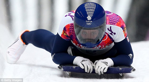 It's a slippery slope: Yarnold competes in the skeleton but don't bank on too many people following her lead