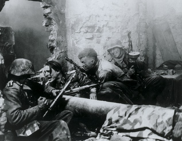 Grit: Previous cinematic attempts to capture the battle have included Stalingrad (1993), pictured, which was directed by the German film maker Joseph Vilsmaier