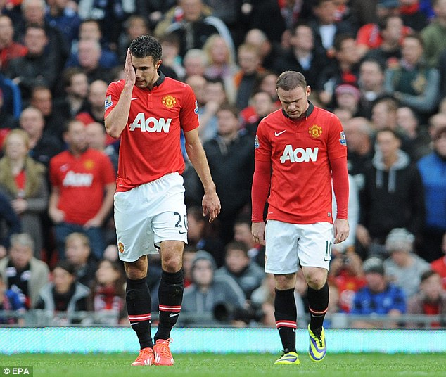 Where has the magic gone? Van Persie and Rooney are not clicking this season