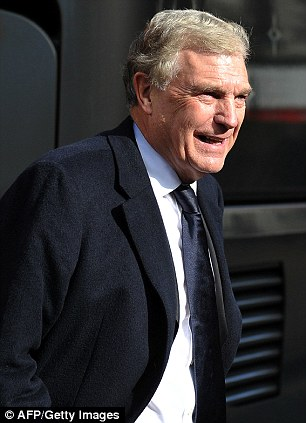 Showing respect: FA director of football development Sir Trevor Brooking arrives at Preston Minster