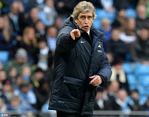 I want you: Manchester City manager Manuel Pellegrini is planning a summer recruitment drive