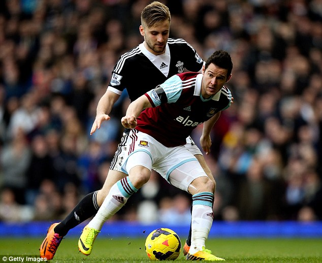 In demand: Southampton will face a battle to keep hold of Luke Shaw (left) as the big guns lie in wait
