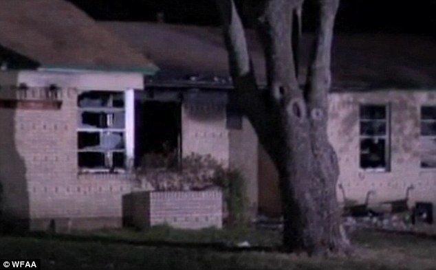 The home was gutted by the fire in the early hours of Friday. The cause is being investigated