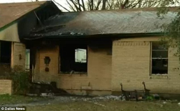 A house fire in Plano, Texas killed Rex Benson after he rushed back in to retrieve his cell phone
