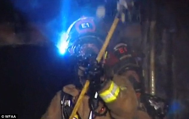 Plano fire department members were at the blaze within minutes last week