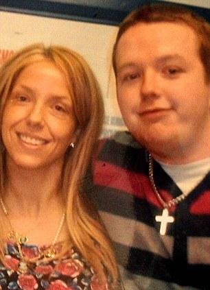 Struggle: Dennis Williams said Susan, left, 'went downhill' after Matthew was discovered dead and later committed suicide