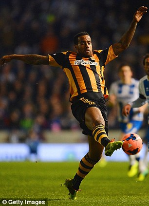 Omitted: Tom Huddlestone was not included despite his fine recent form for Hull